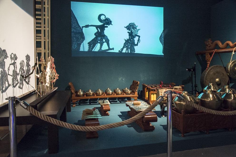 gamelan musee corte